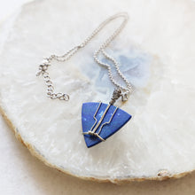Load image into Gallery viewer, Lapis Lazuli Wire Wrapped Necklace