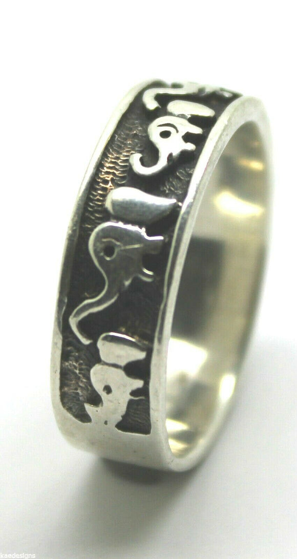 NEW SOLID STERLING SILVER 925 LUCKY ELEPHANT RING *FREE EXPRESS POST IN OZ*