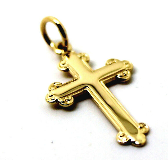 Kaedesigns, New Genuine New 375 9ct Yellow or Rose or White Gold Cross Pendant
