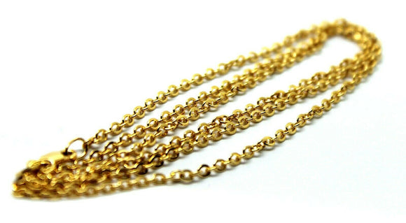 9ct 9k Yellow Gold Belcher Chain Necklace 70cm 3.8grams - Free Express Post
