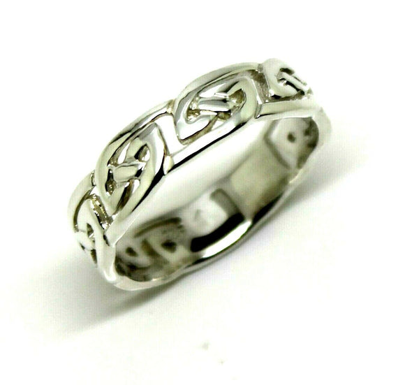 Kaedesigns New Genuine Sterling Silver 925 Celtic Weave Ring 274