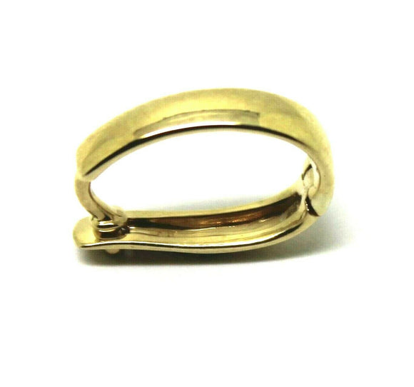 Genuine Sterling Silver (yellow gold plated) Enhancer Clasp 13mm Large