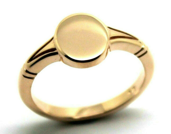 Size P Kaedesigns New Genuine Solid New 9ct 9K Yellow, Rose or White Gold Oval Signet Ring