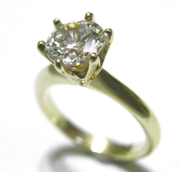 Kaedesigns, New Genuine 9ct 9kt Solid Yellow Gold / 375, Engagement Ring