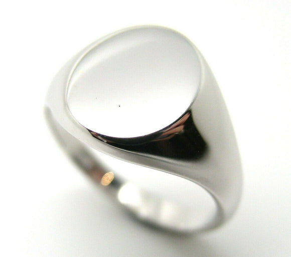 Kaedesigns, New Genuine Sterling Silver Full Solid Heavy Signet Ring in your size
