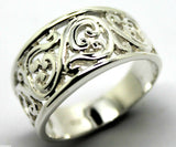 KAEDESIGNS, NEW GENUINE STERLING SILVER 925 FILIGREE SWIRL RING