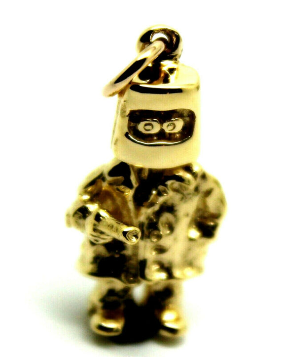 Kaedesigns New Heavy 9ct Yellow, Rose or White Gold / 375 Solid Ned Kelly Pendant