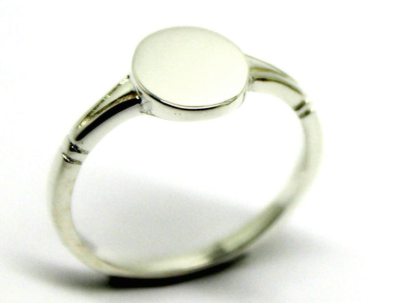 Kaedesigns New Size R Solid Sterling Silver 925 Oval Signet Ring