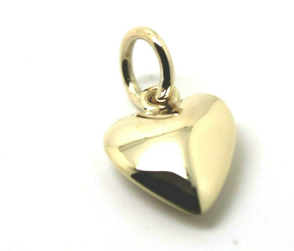 KAEDESIGNS, Genuine 9ct Yellow or Rose or White Gold Heart Charm or Pendant