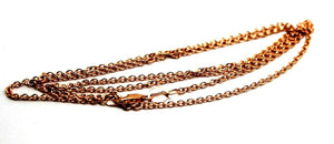 9ct Rose Gold Belcher Chain Necklace 70cm 3.94Grams *Free Express Post In Oz