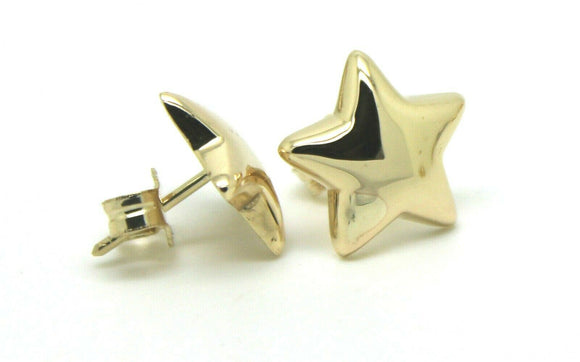 Kaedesigns, 9ct Yellow Or White Or Rose Gold Bubble Drop Star Stud Earrings