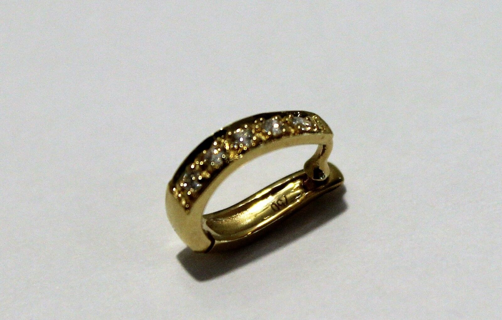 GENUINE 18ct Yellow KAEDESIGNS many sizes OPEN JUMP RING Rose or White GOLD