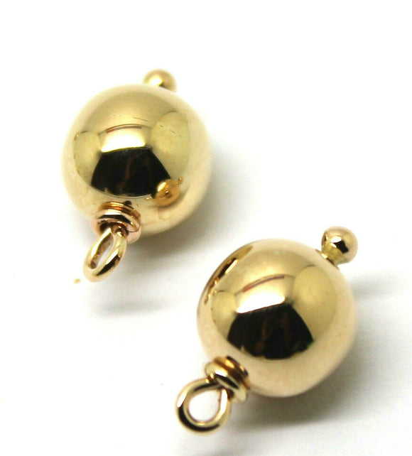 9Ct Yellow, Rose or White Gold 10m Ball Plain Balls For Charm Earrings