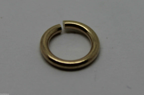 KAEDESIGNS, GENUINE 18ct Yellow, Rose or White GOLD, many sizes OPEN JUMP RING   Kaedesigns, Genuine 18Ct Yellow, Rose Or White Gold, Many Sizes Open Jump Ring
