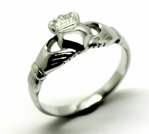 Genuine Sterling Silver Irish Claddagh Ring In your size Rrp$175