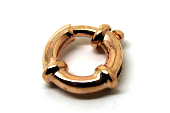 14mm 9ct Rose Gold Bolt Ring Clasp*Free Express Post