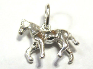 Kaedesigns, New Genuine Sterling Silver Solid Horse Pendant Or Charm