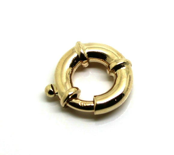 **18mm 9ct Yellow Gold Bolt Ring Clasp *Free Express Post