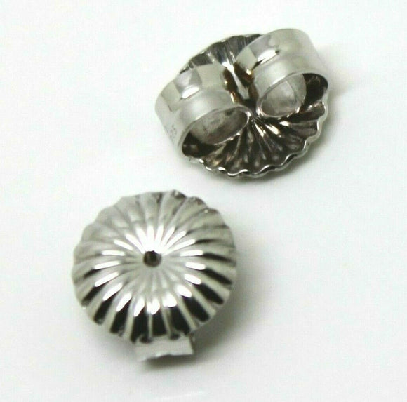 KAEDESIGNS,Sterling Silver 925 Flower Earring BUTTERFLY BACKS 5.5mm or 9mm