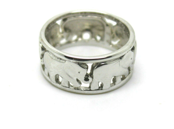 KAEDESIGNS, NEW SOLID STERLING SILVER 925 WIDE ELEPHANT RING SIZES TO CHOOSE