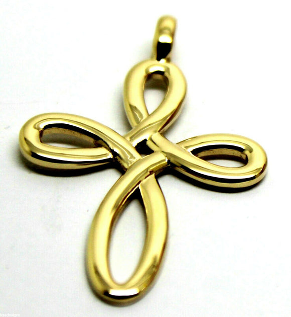 Kaedesigns, Large 9ct Yellow Or Rose Or White Gold Fancy Celtic Cross Pendant 402