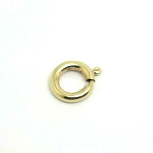 Kaedesigns New Small 8mm 9ct 375 Yellow, White or Rose Gold Bolt Ring Clasp