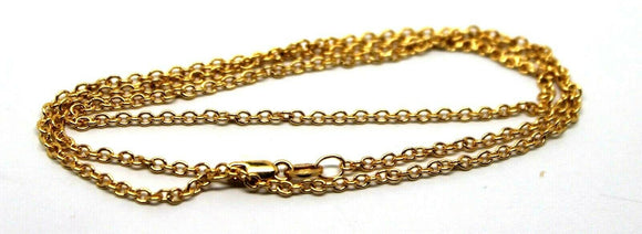9ct Yellow Gold Belcher Chain Necklace 50Cm 2.93Grams  *Free Express Post In Oz