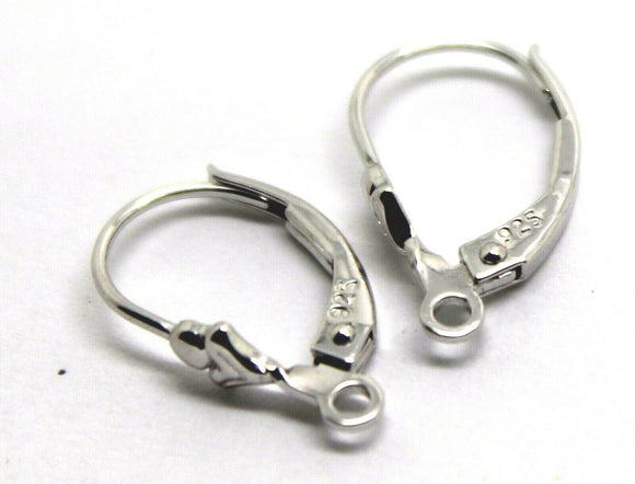 Sterling Silver 925 15mm Continental Clip Hooks *Free Post In Oz*