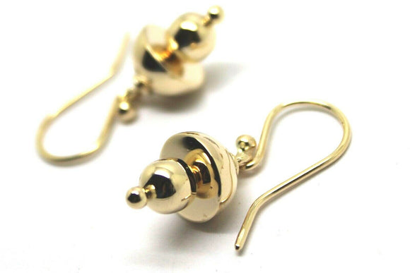 Kaedesigns New Genuine 9ct Yellow, Rose or White Gold Fancy Hook Earrings