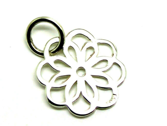 Kaedesigns New New Sterling Silver 925 Flower Small Pendant