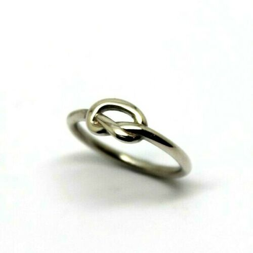 Size I 1/2 Full Solid Sterling Silver Infinity Celtic Knot Ring -Free post