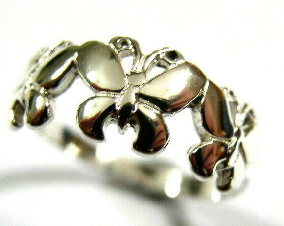 KAEDESIGNS, GENUINE NEW STERLING SILVER SOLID CHILDS BUTTERFLY RING 350