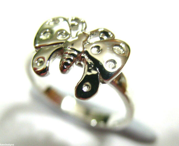 Kaedesigns New Genuine Childs Genuine Sterling Silver Butterfly Ring