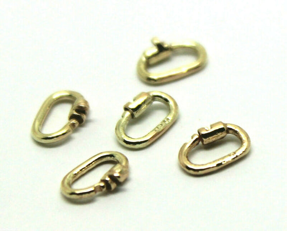 Kaedesigns New Genuine10 x 9ct yellow gold  LINK LOCK LOCKS **Free Express post