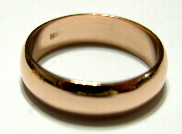 Kaedesigns, New Genuine Custom Made Solid 18ct 18kt Yellow, Rose or White Gold 6mm Wedding Band