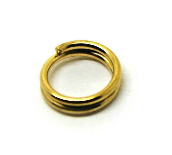 Kaedesigns New 9ct Yellow Gold Split Ring Sizes 5mm Or 6mm Or 7mm