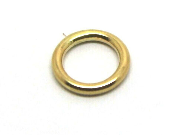 KAEDESIGNS, 9ct 18ct Yellow/White/Rose Gold SOLDERED JUMP RING MANY SIZE 2pk/5pk