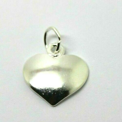 Sterling Silver Heart Charm or pendant charm + jump ring