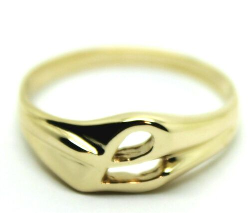 Genuine 9ct 9kt  Solid Yellow Or Rose Or White Gold 375 Large Initial Ring L