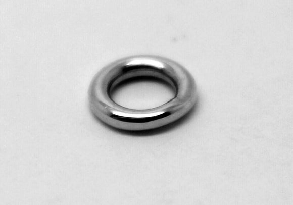 Kaedesigns, Sterling Silver Soldered Jump Ring Many Sizes 5pcs Or 10pcs