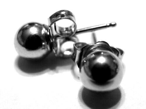 Kaedesigns, Sterling Silver 3mm, 4mm, 5mm, 6mm, 7mm Or 8mm Stud Ball Earrings