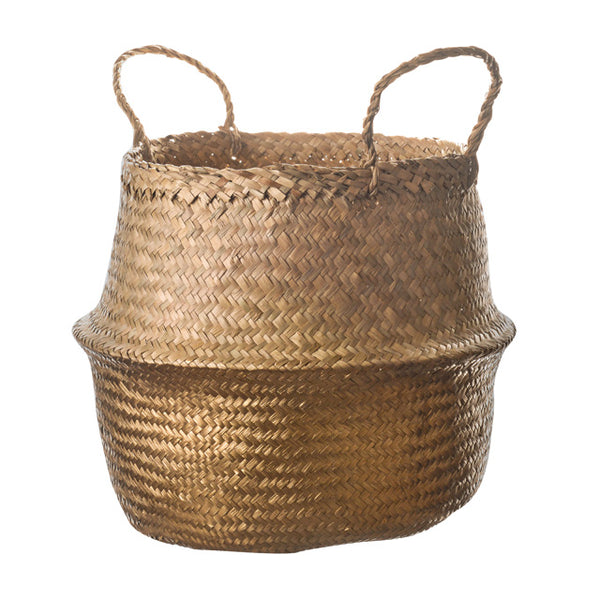 Gold Dipped Belly Basket