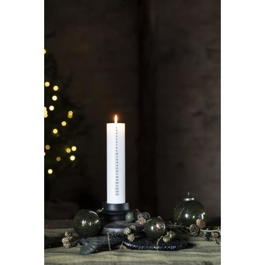 Advent Candle including Holder