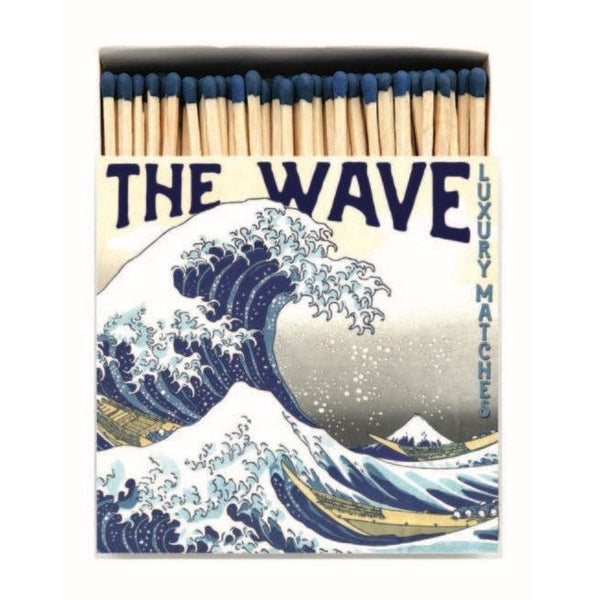 The Wave Letterpress Design Luxury Matches