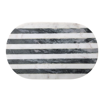 Striped Marble Chopping Board