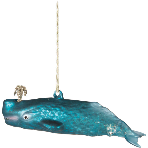 Whimsical Whale Bauble