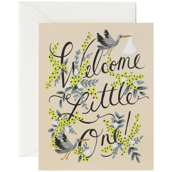 Welcome Little One Card - Rifle Paper Co