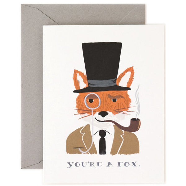 You're A Fox Card - Rifle Paper Co