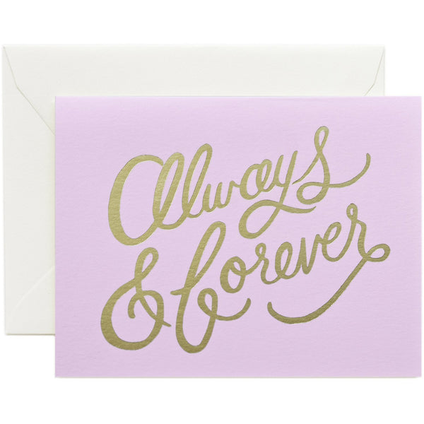 Always & Forever Card - Rifle Paper Co