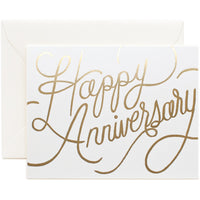 Happy Anniversary Card - Rifle Paper Co
